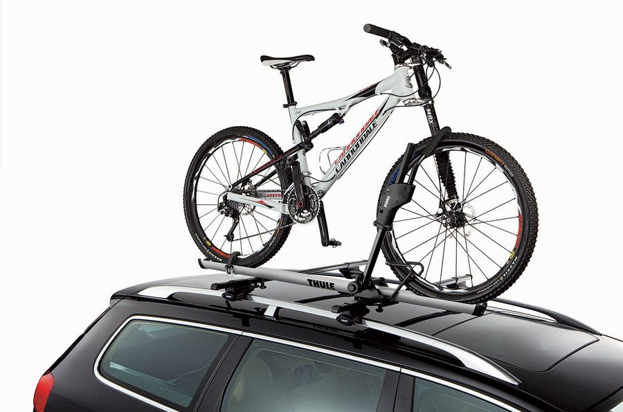Roof Bike Rack Thule Sidearm 594xt On A Car Bike Roof Rack Car