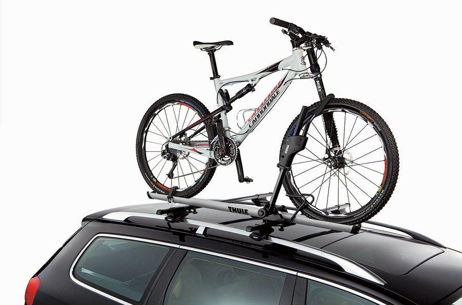 Roof Bike Rack Thule Sidearm 594xt On A Car Bike Roof Rack Car