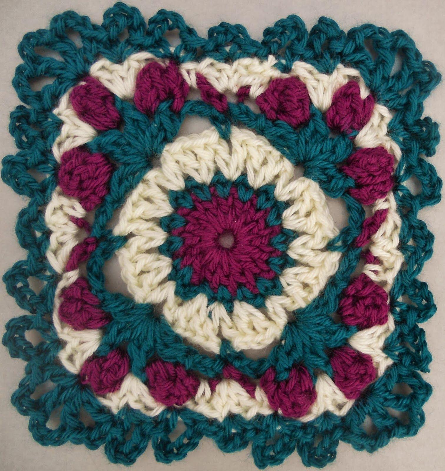 Passion Rose Motif By Tammy Hildebrand - Free Crochet Pattern ...