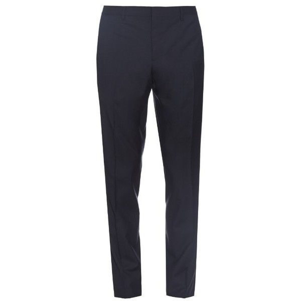 straight leg trousers - Blue Burberry OGV5BvL