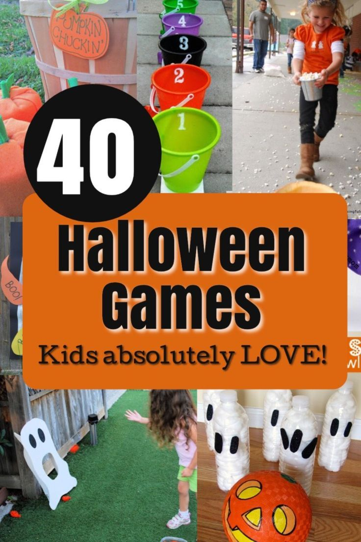 Halloween Games for Kids - How Wee Learn #halloweenpartygamesforkids