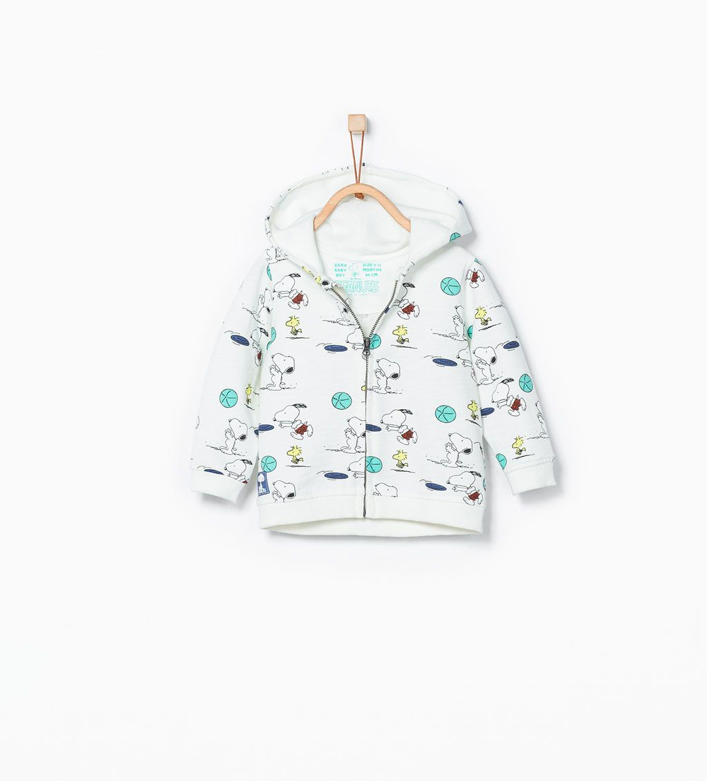 ZARA - NEW THIS WEEK - Snoopy sweatshirt