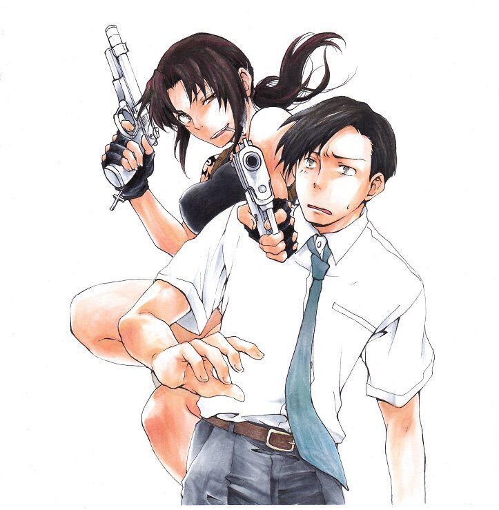 Revy x Rock   Black lagoon anime, Black lagoon, Manga couples