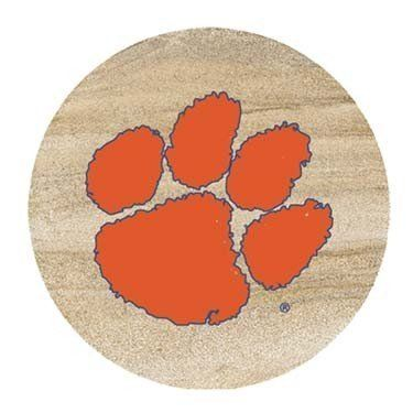 Thirstystone Clemson University Tigers Coaster Set by Thirstystone. $16.50. Made in the USA. Natural cork backing. Set of 4. Thirstystone Clemson University Tigers Coaster Set