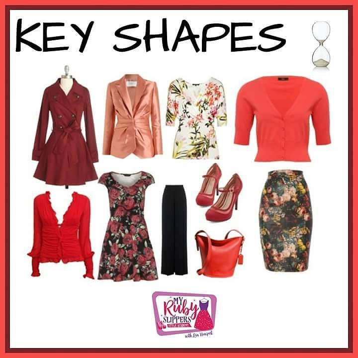 Key styles for an hourglass figure #colour_guru #colour #confidence #fabover50 #fabover40 #empoweringwomen #loveyourself #selfconfidence #womensfashion #womenofacertainage #lookgoodfeelfabulous #niftyfifty #styleguide #styletips #empowerment #colourful #selfimage #selfie  #stylechallenge #irreverent #sassy #savvy #attitude #possibility