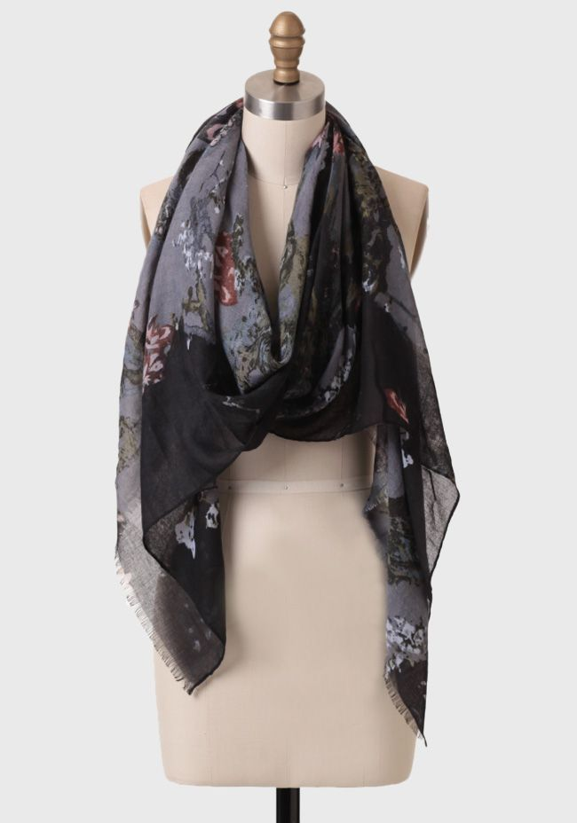 Garden Mystery Scarf at #Ruche @Ruche  This is my kind of scarf! #mysterious
