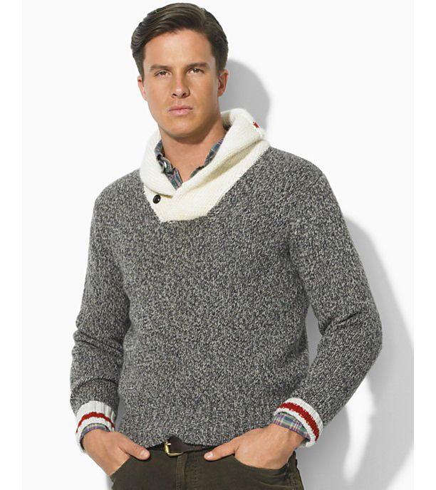Polo Ralph Lauren shawl collar Sweater | DJ Envy Wearing Polo ...