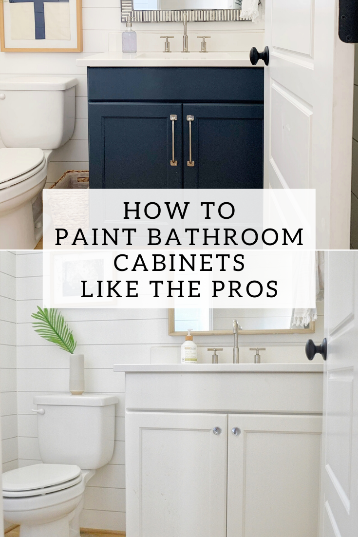 Painting Bathroom Cabinets A Beginner S Guide In 2020 Painting