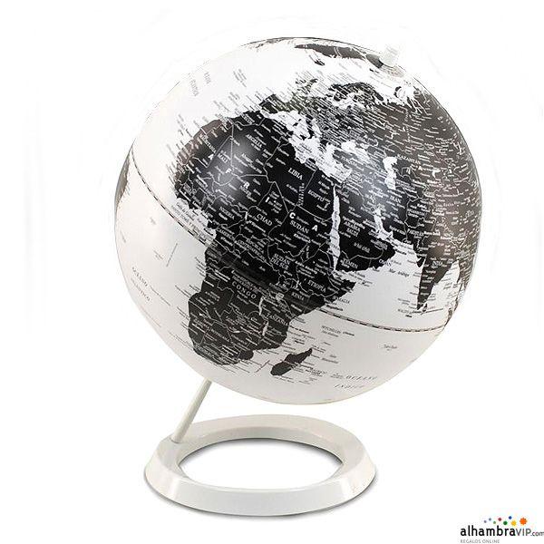 Bola del mundo blanca decoraci n alhambravip pinterest - Bola del mundo decoracion ...