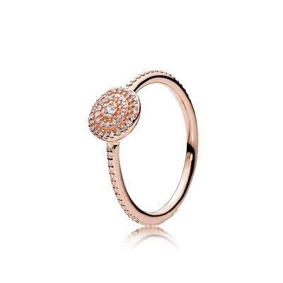 pandora rings rose gold cheap