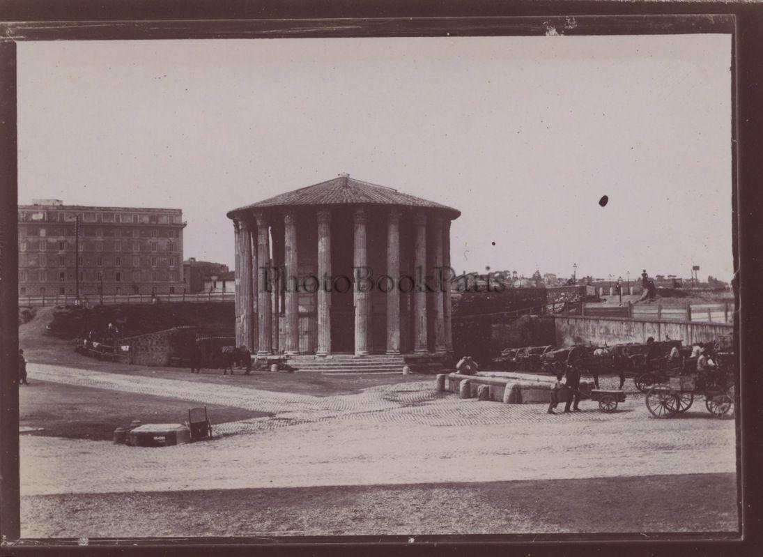 . Tempio di Vesta al Foro Boario (1898)