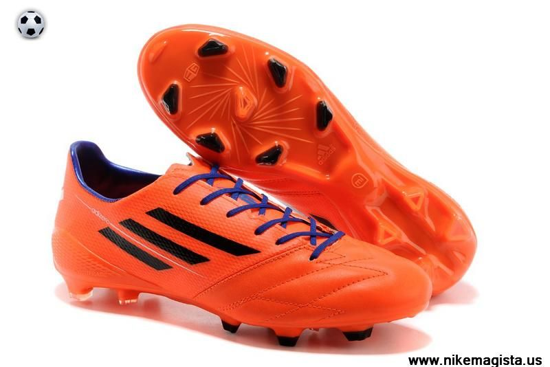 Adidas F50 AdiZero TRX FG Leather (Orange Black Purple)