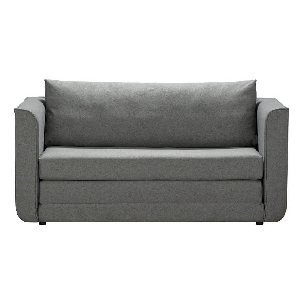 Buy Argos Home Ada 2 Seater Fabric Sofa Bed Grey Sofa Beds Grey Sofa Bed Fabric Sofa Bed Lights