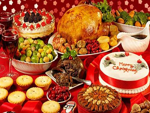 Traditional English Christmas Dinner.British Christmas Dinner I Love Christmas Traditional