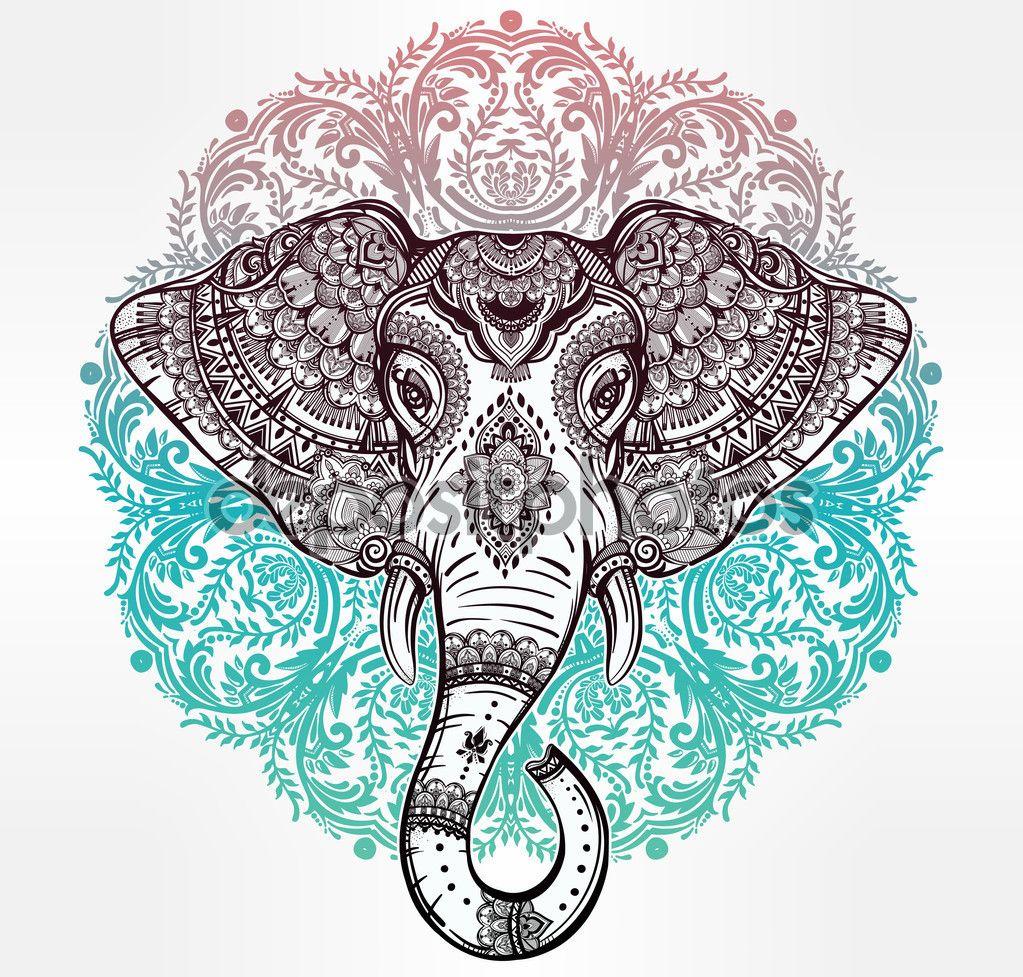 elefante hindu para imprimir - Buscar con Google   fondos de ...