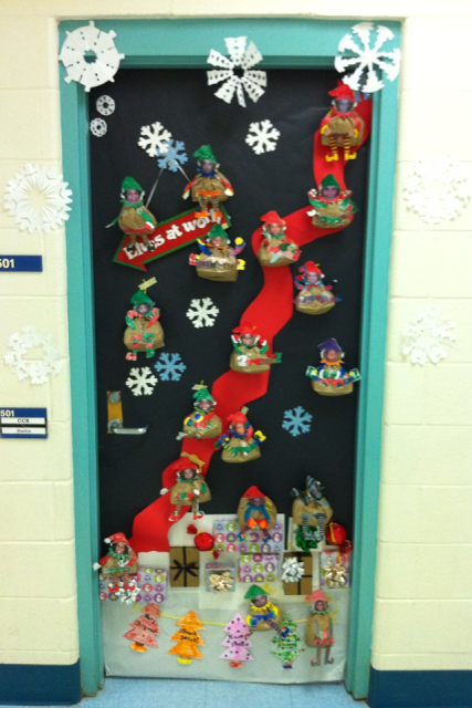Apex Elementary Art It S Starting To Look Festive At Apex