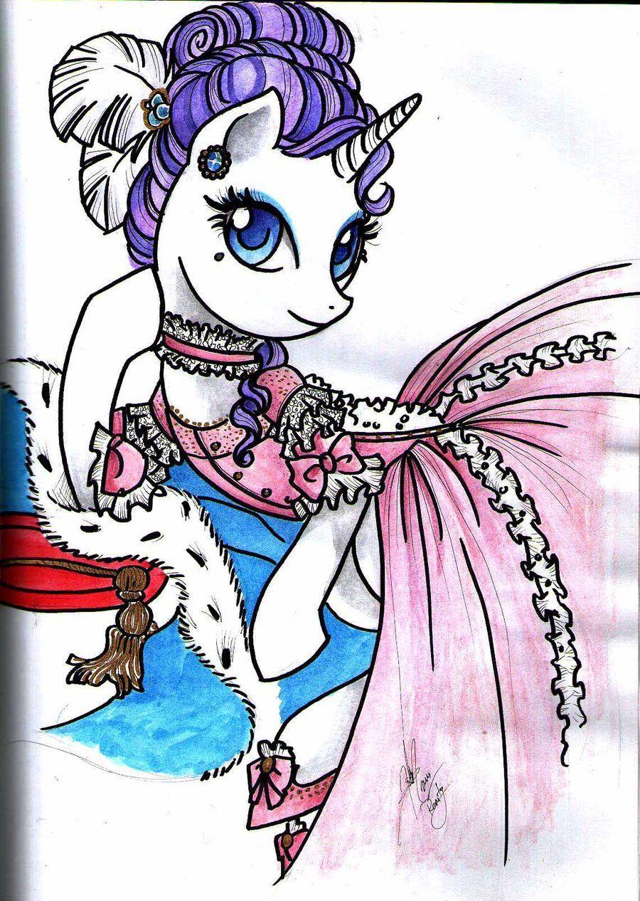 Madame Rarity By Ladyamalteadeviantartcom On At Deviantart I Am A