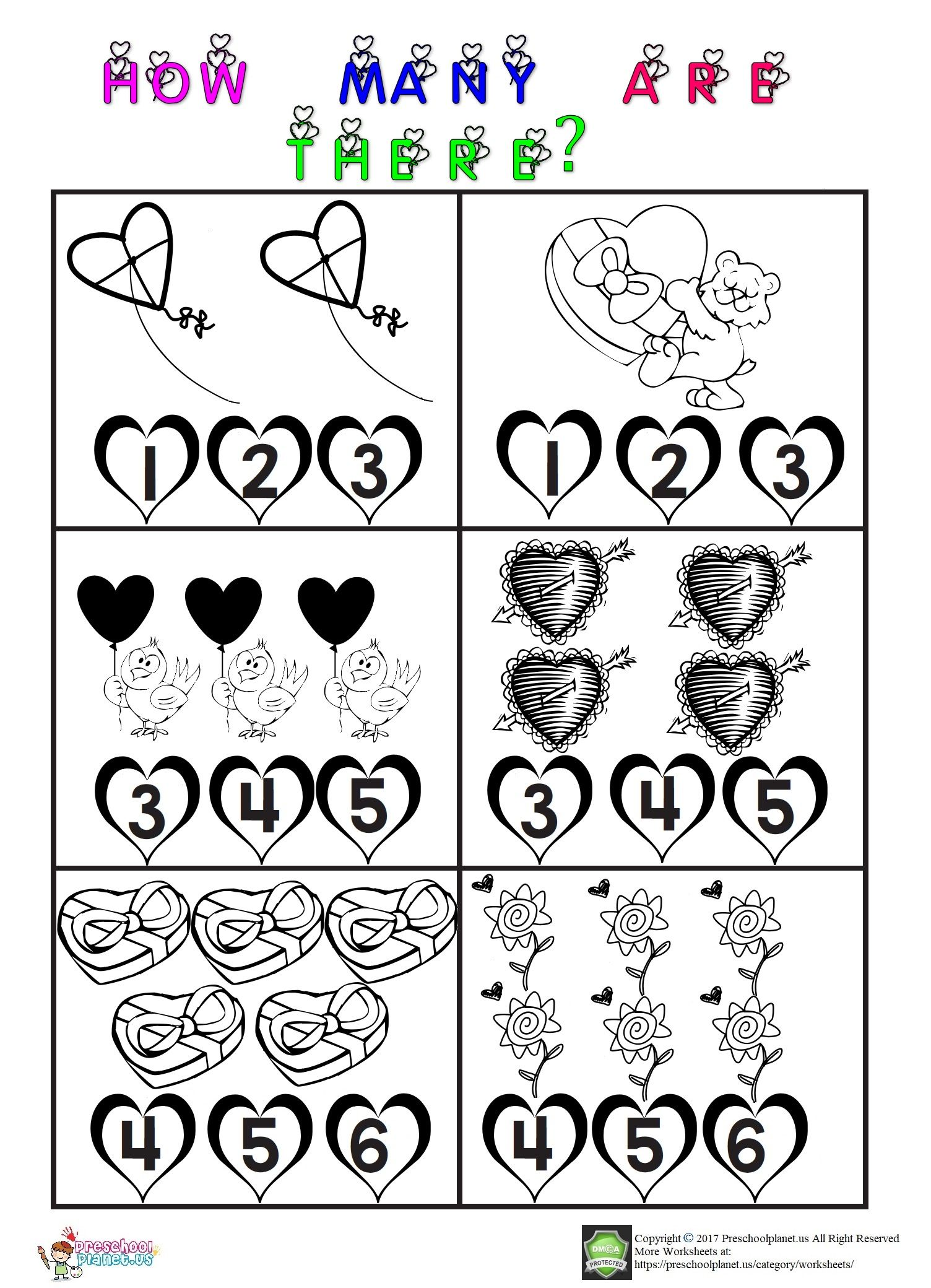 Valentine Day Worksheet