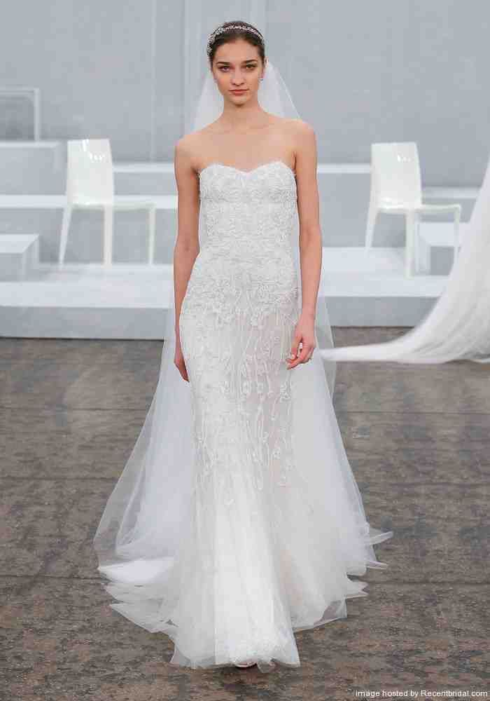 Monique Lhuillier Mermaid Wedding Dress