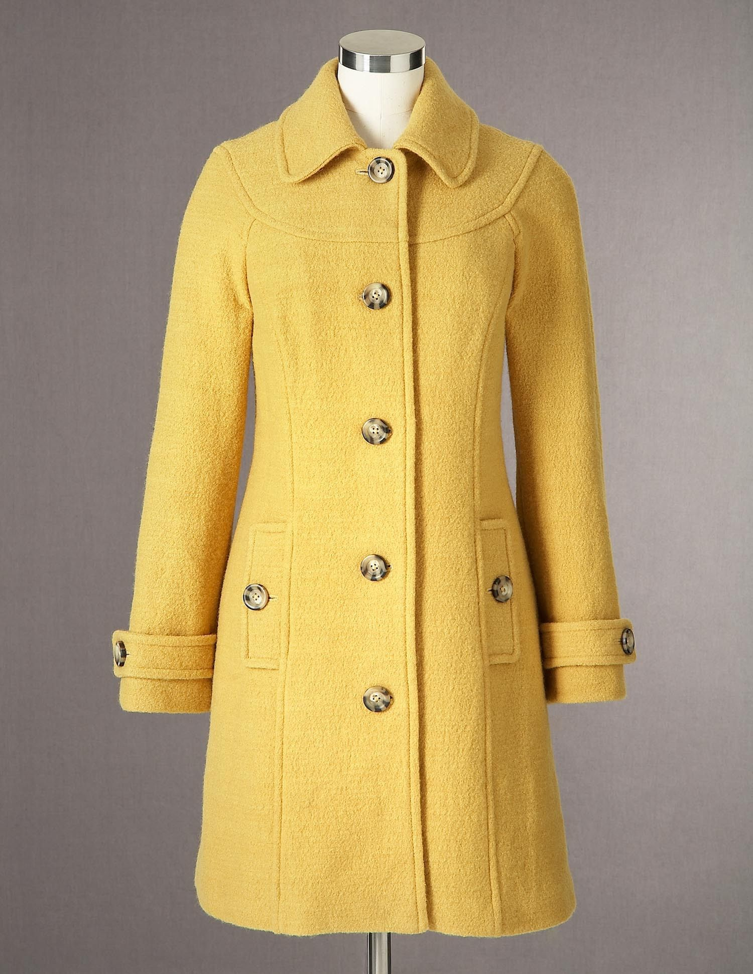 Boiled Wool Coat WE357 Coats at Boden | Wear | Pinterest | Coats ...