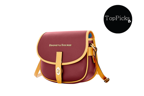 Dooney & Bourke Claremont Leather Field Bag