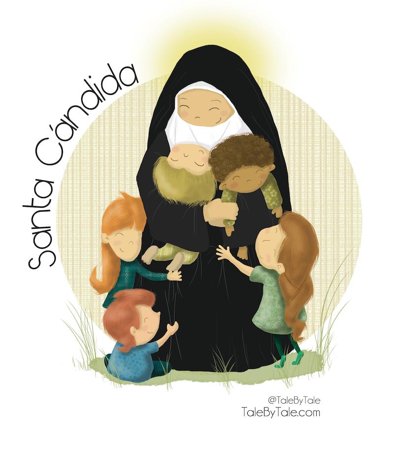 Ilustracion Para El Colegio Stella Maris De Almeria Madre Candida Su Fundadora Roteiros