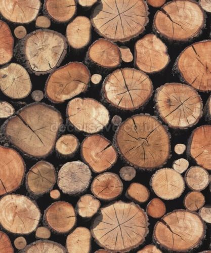Holden Decor Statement Stacked Logs Wallpaper 97710 Log Burner Fire Wood Log Wallpaper Wood Effect Wallpaper Rustic Wallpaper