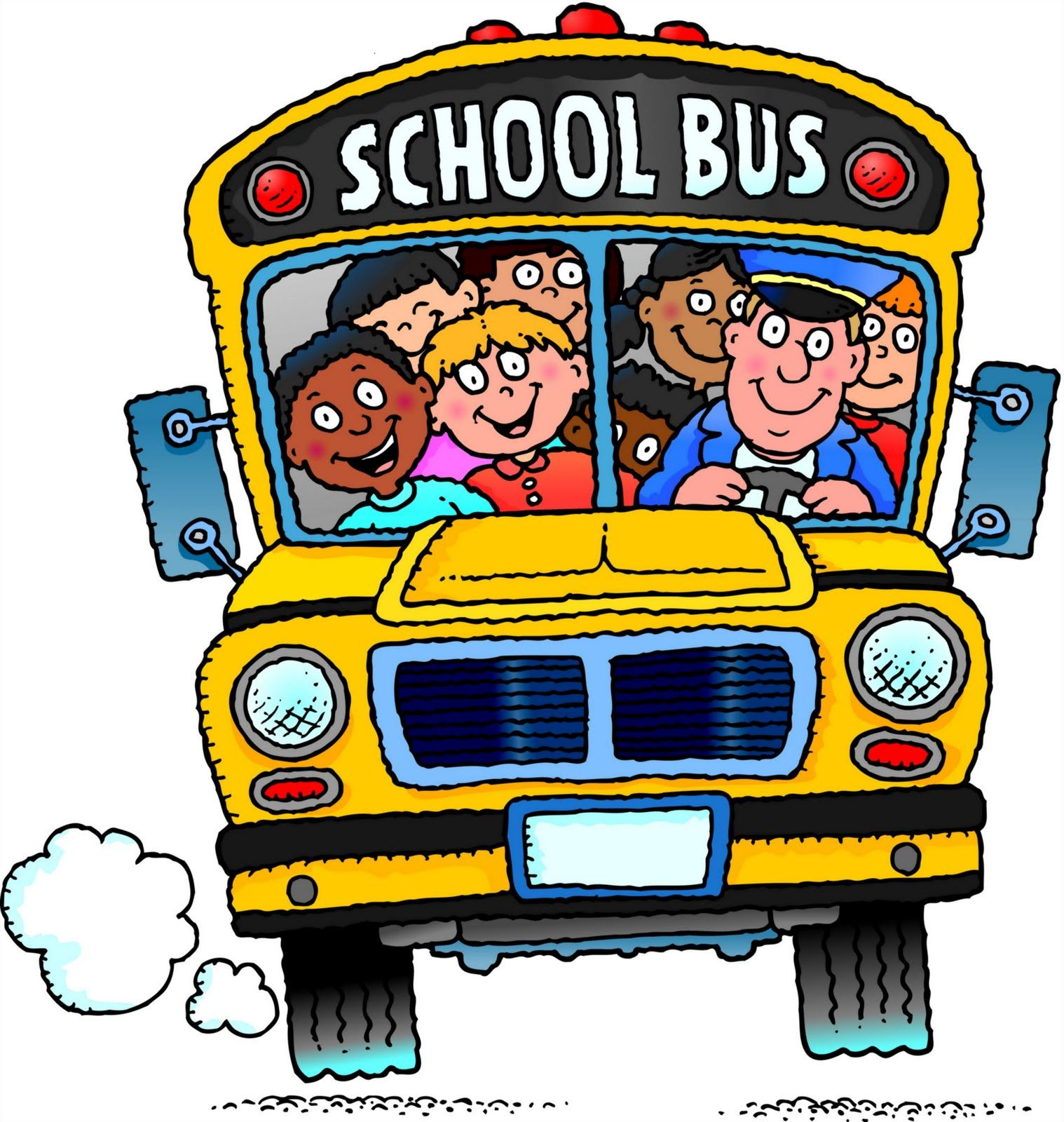 Free School Bus Clipart 7 5 Site Has Many School Bus Images With