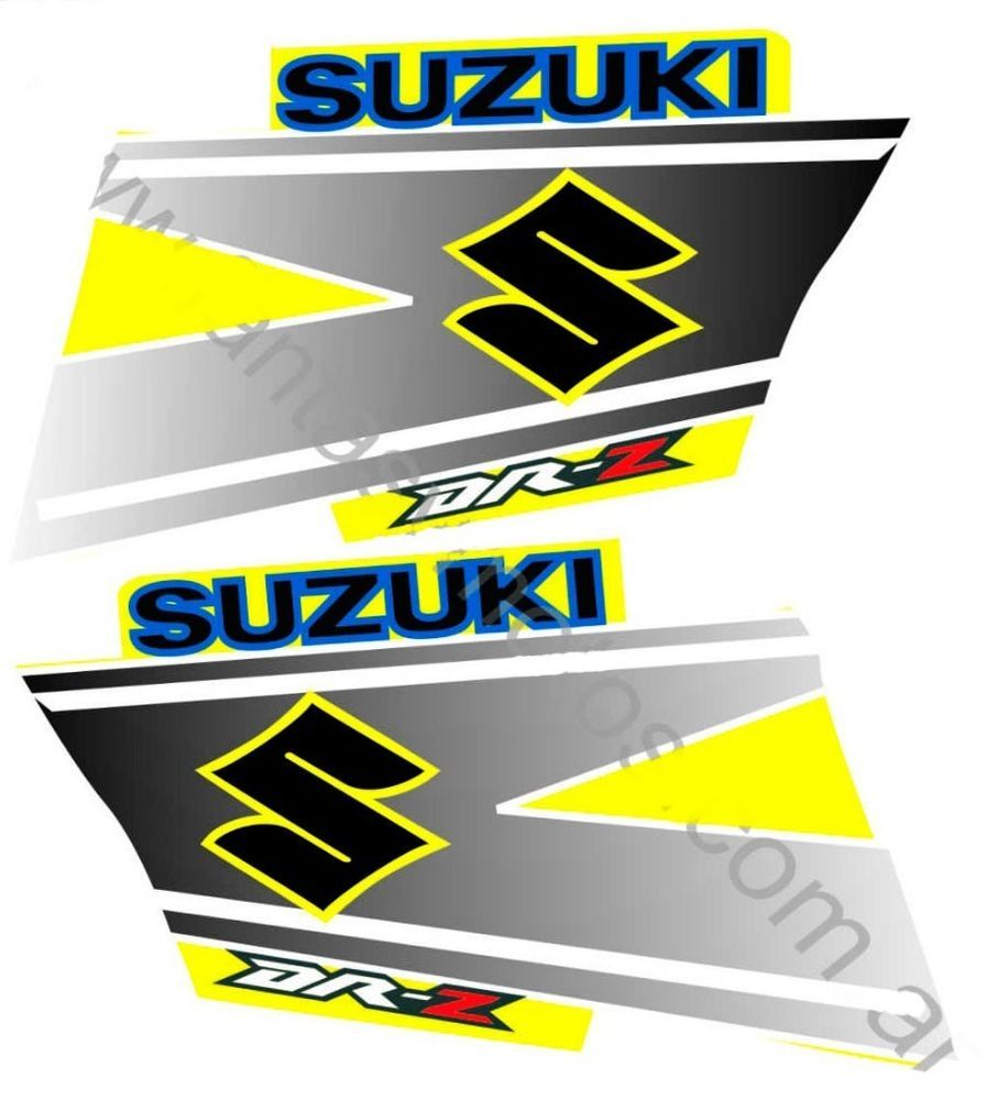 Suzuki Dr Sticker Set