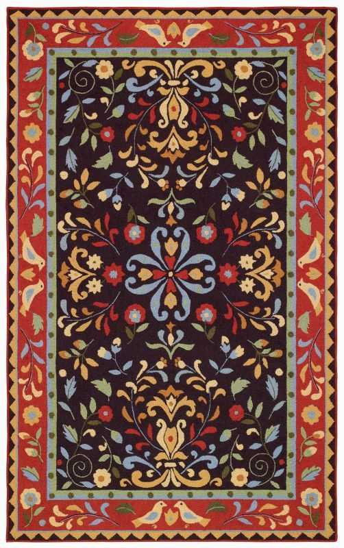 Capel Amish Country 6040 Spice Rug Traditional Rugs