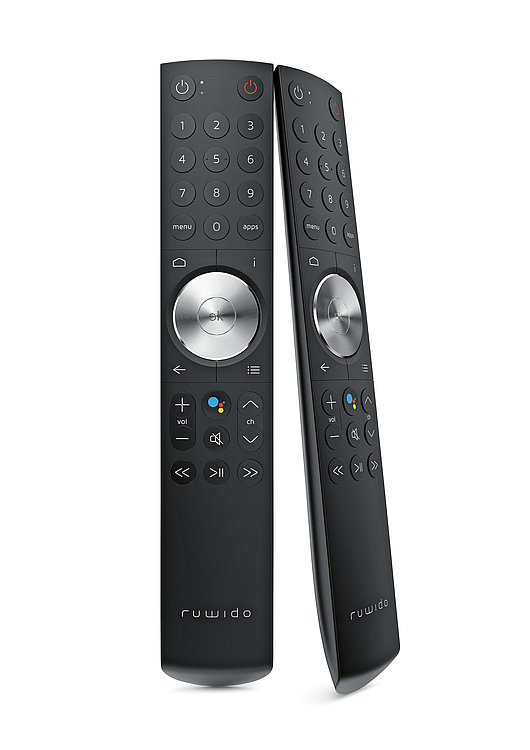 Red Dot Design Award R157 7 Androidtv Remote Control Tv Remote Controls Remote Remote Control