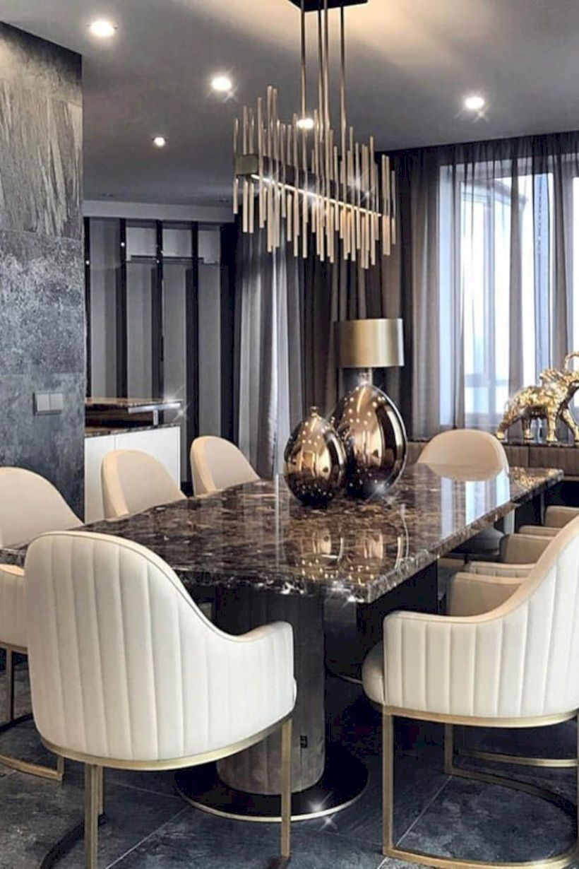 37 Luxury Dining Room Ideas For The Big House Dining Room Sets