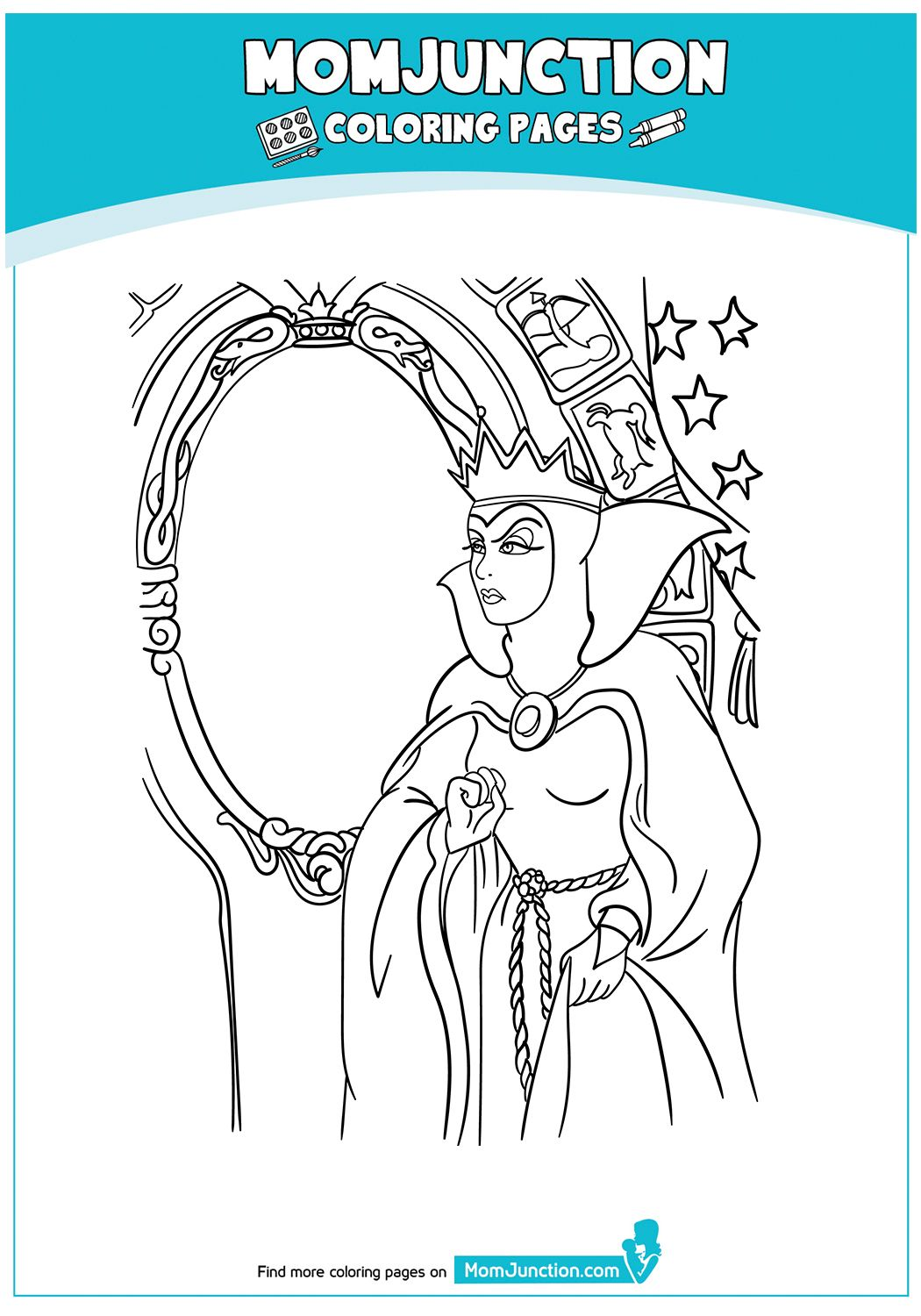 The Magic Mirror 17 Coloring Pages Color Magic Mirror
