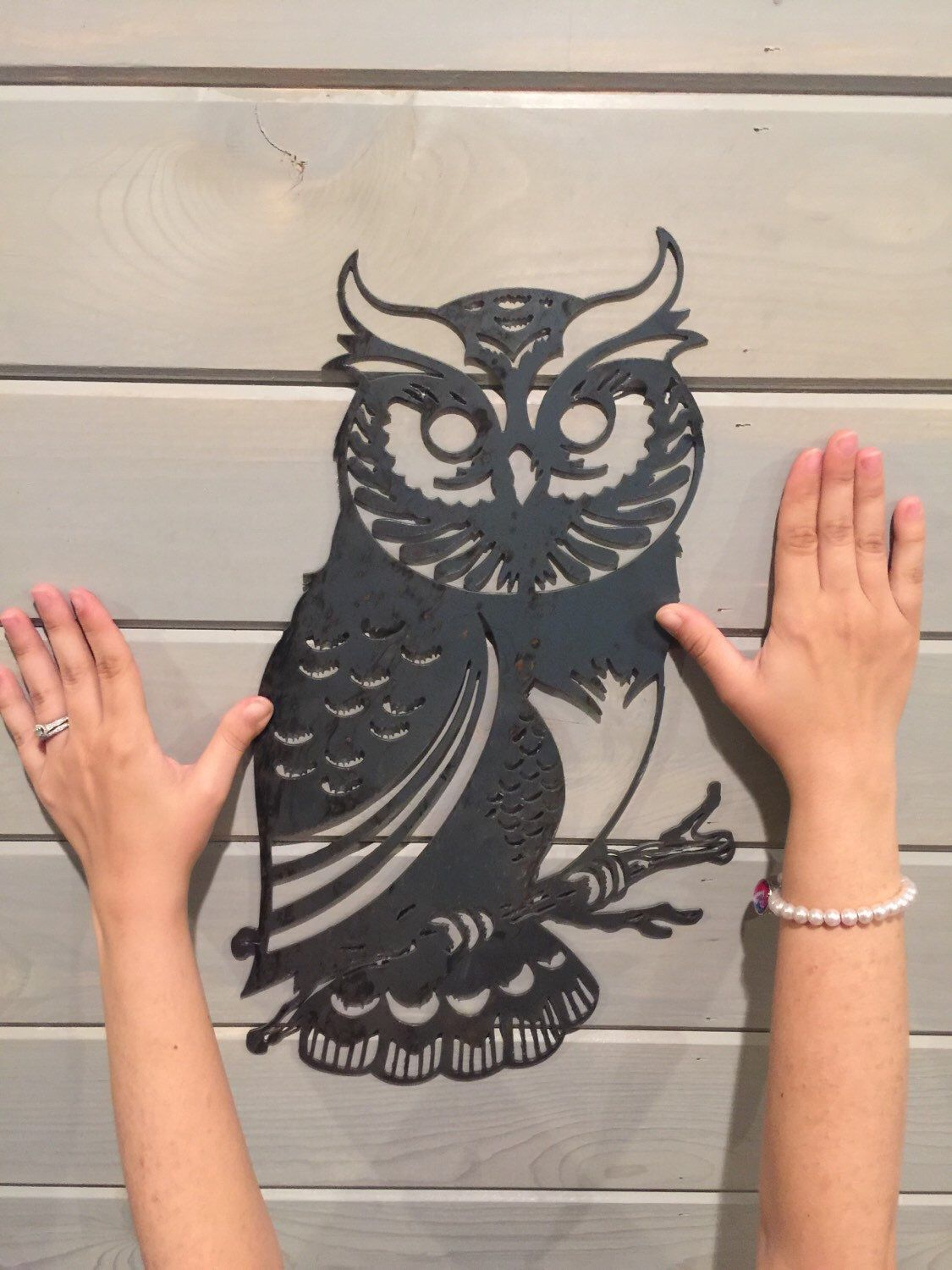 A personal favorite from my etsy shop httpsetsylisting owl metal art owl home decor owl wall art bird decor bird wall decor metal wall decor bird wall art rustic owl decor rustic decor amipublicfo Gallery