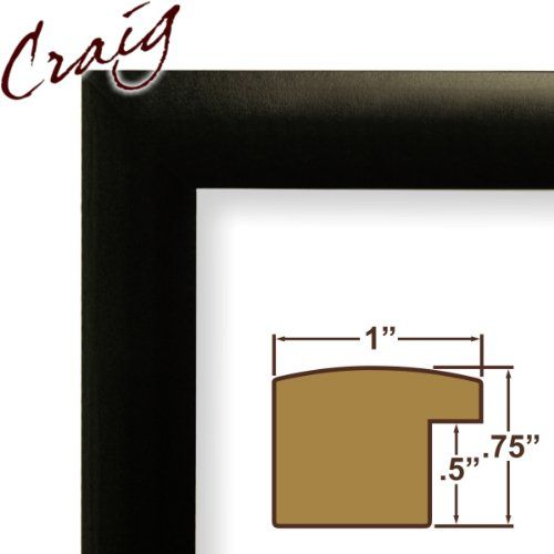24x36 Picture Frame Poster Frame 1 Wide Matte Black 24x36 N1wb3 17 79 Craig Frames Custom Picture Frame Poster Frame