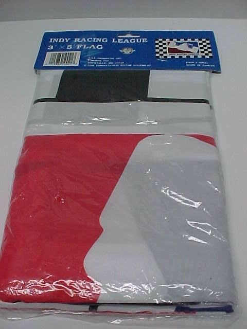 Vintage 1996 INDY RACING LEAGUE Checkered Flag 3' x 5