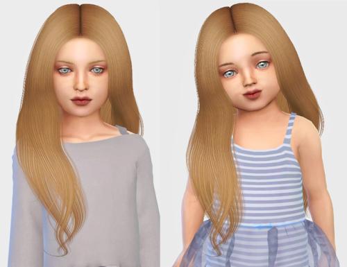 Lluvia de ideas mods peinados sims 4 Colección De Cortes De Pelo Tendencias - Lana CC Finds - Simpliciaty Naya - Toddler Version | Pelo ...