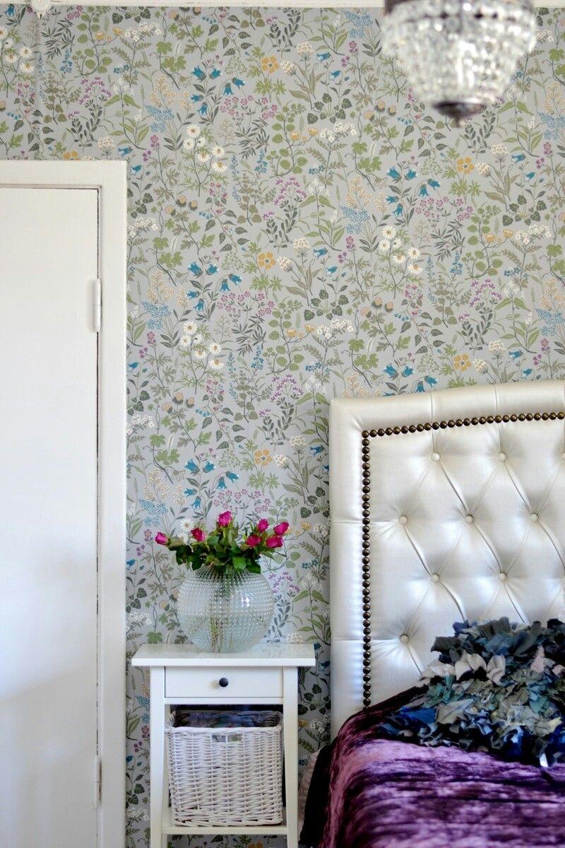 Boråstapeter flora Home decor, Wallpaper, Room