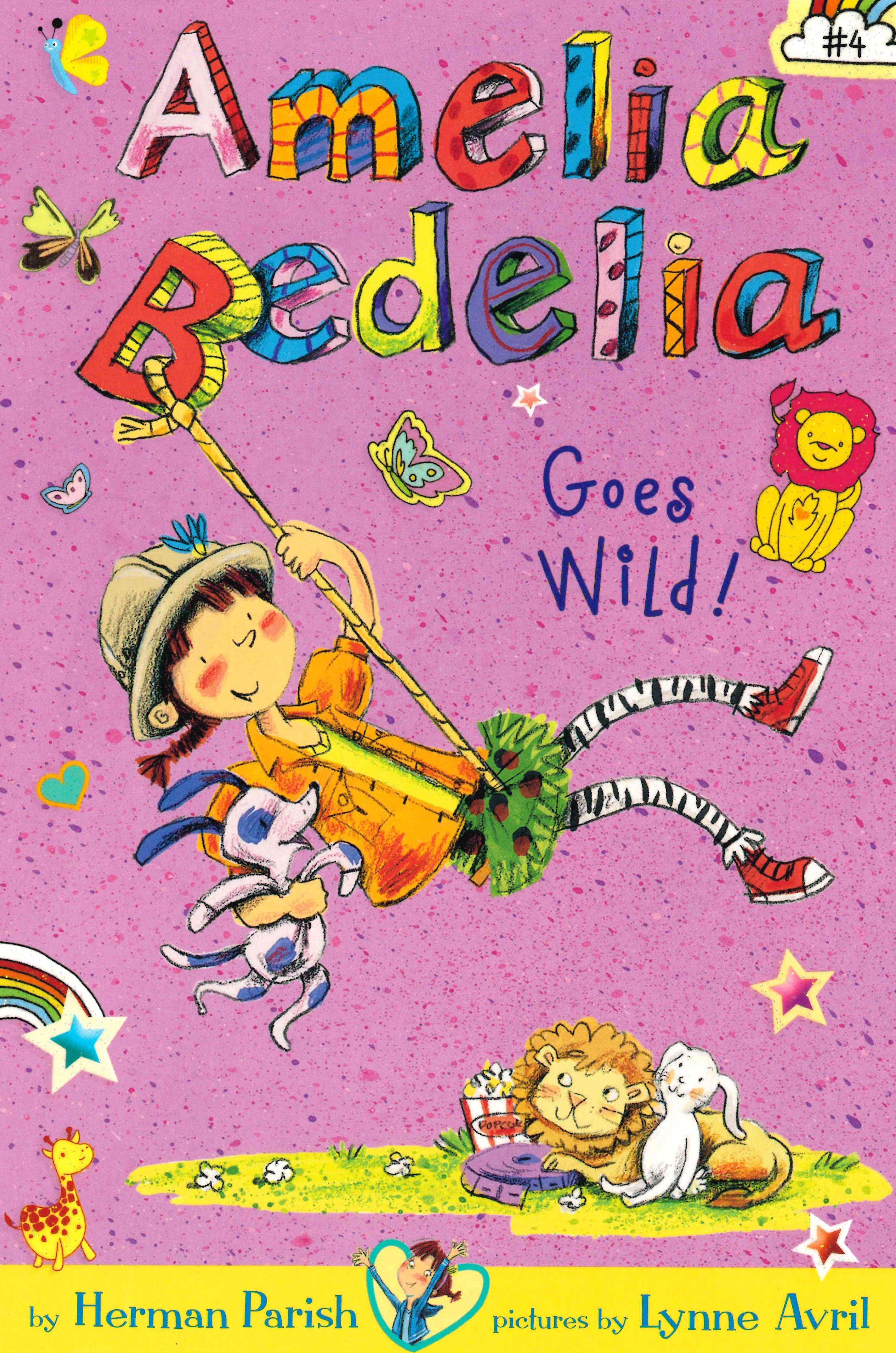 Amelia Bedelia Goes Wild Paperback