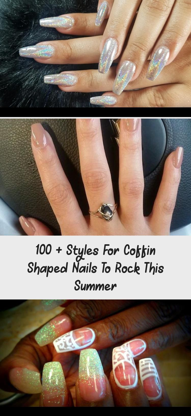 Photo of 100 + Styles For Coffin Shaped Nails To Rock This Summer – Skin Nail Care