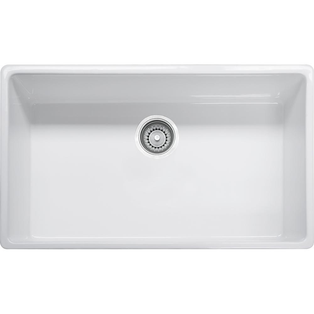 Farm House 33 Fireclay White Apron Front Kitchen Sink Fhk710 33