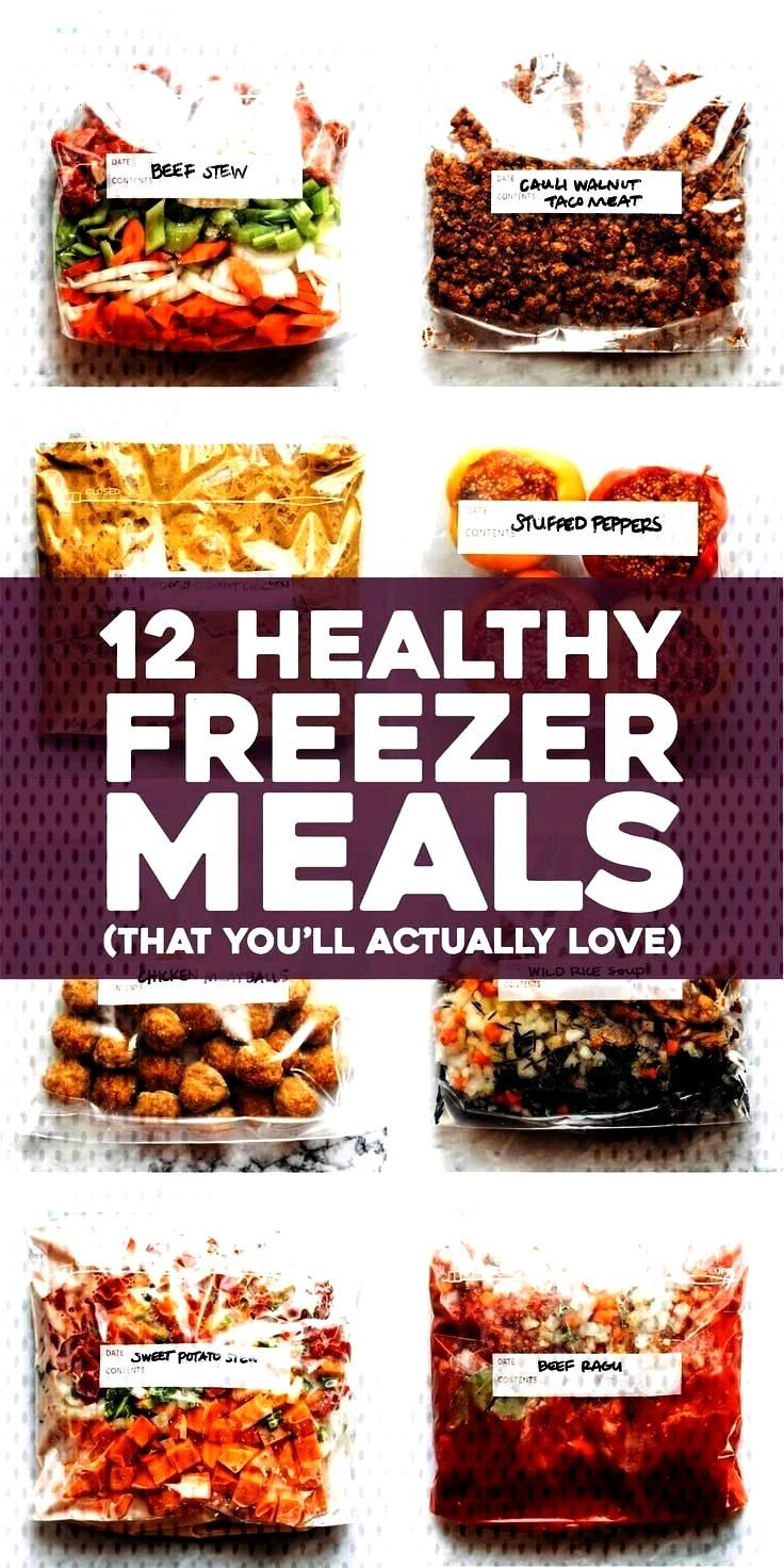 Freezer Meals (That Youll Actually Love) - Pinch of Yum -16 Healthy Freezer Meals (That Youll Act