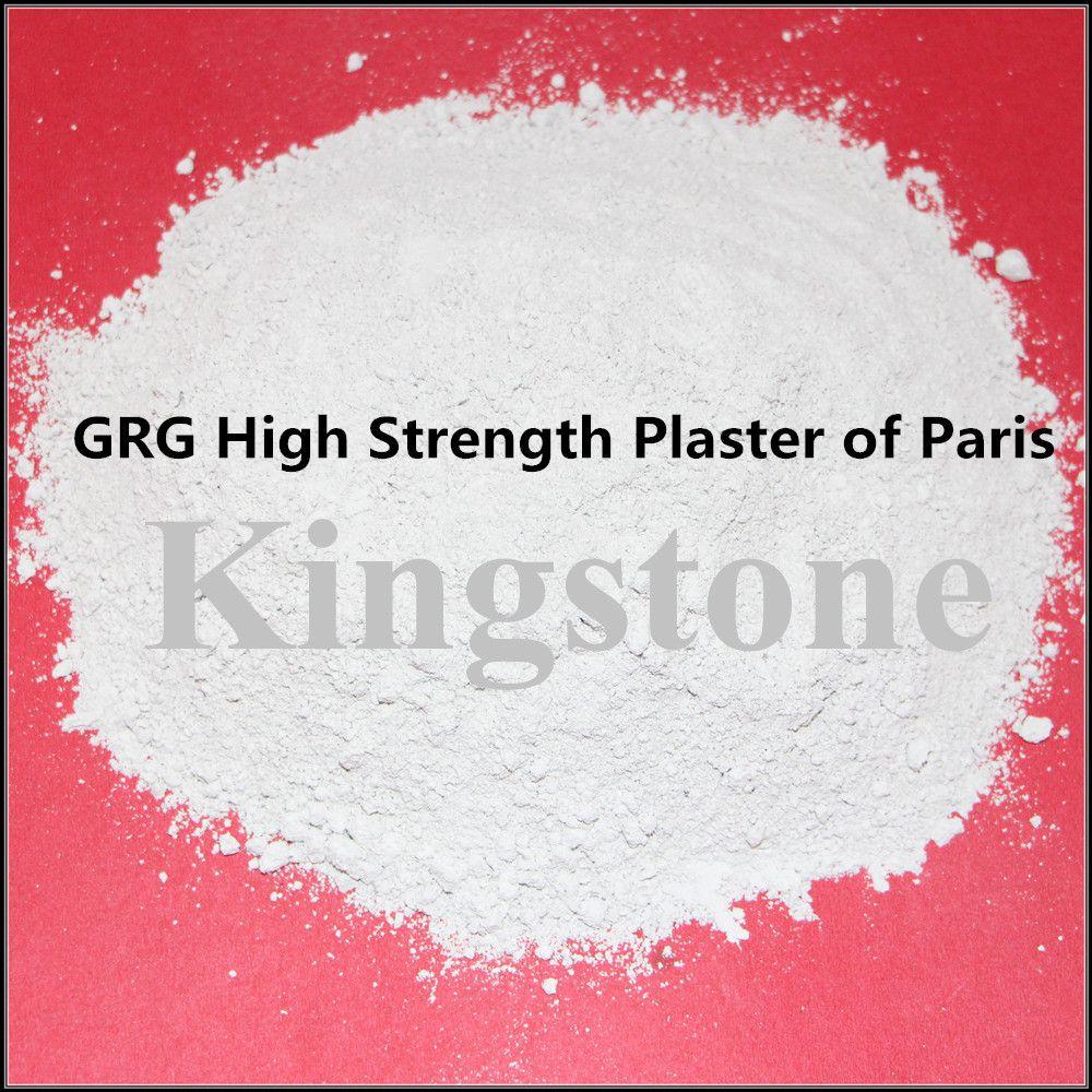 Grg High Strength Gypsum Powder Plaster Of Paris Kingstone Gypsum Gypsum Powder Plaster Of Paris Plaster
