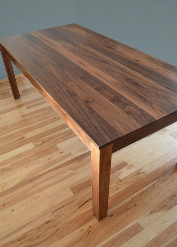 Http Www Custommade Com Solid Walnut Dining Table By Fabitecture