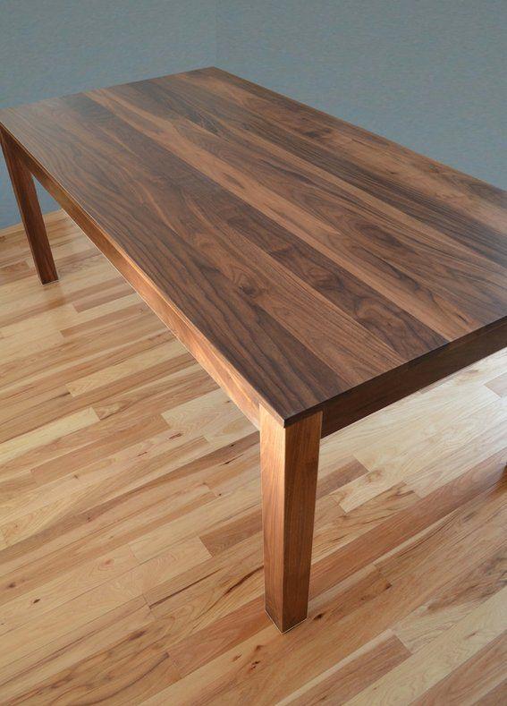Custom Made Solid Walnut Dining Tablefabitecture  Custommade Captivating Custom Made Dining Room Tables Decorating Inspiration