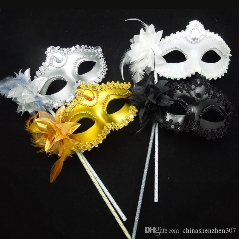 Party Lace Mask Eye Masks Carnival Fancy Dress Flower/&Feather Masquerade Ball