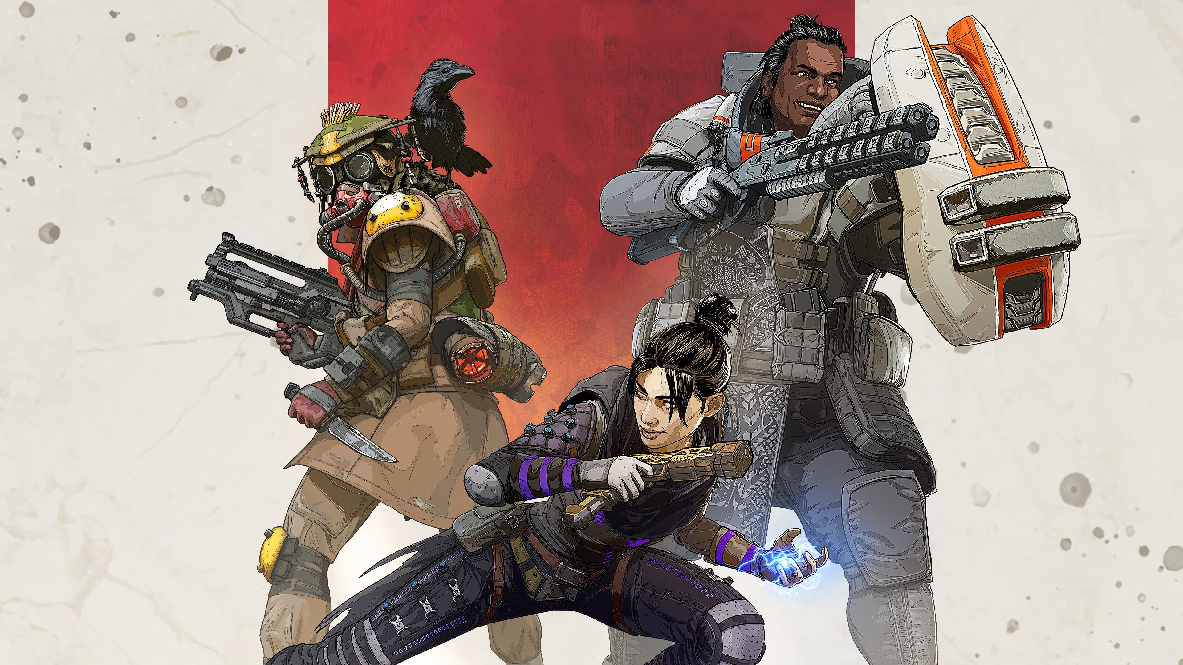 Apex Legends 4k Wallpapers panosundaki Pin