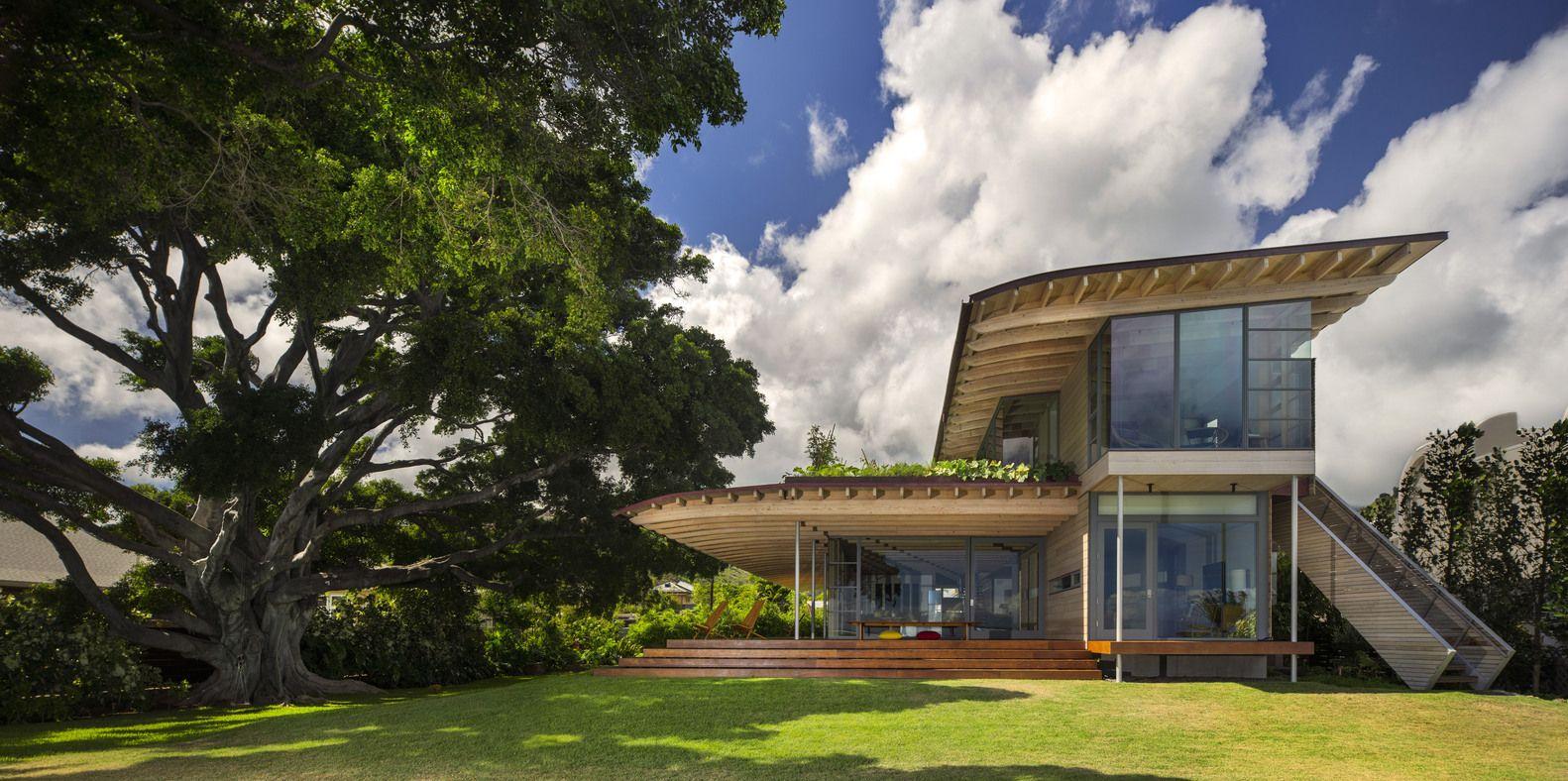AIA Names 10 Best US Houses of 2016,Custom Housing: Island Residence; Honolulu / Bohlin Cywinski Jackson. Image Courtesy of AIA