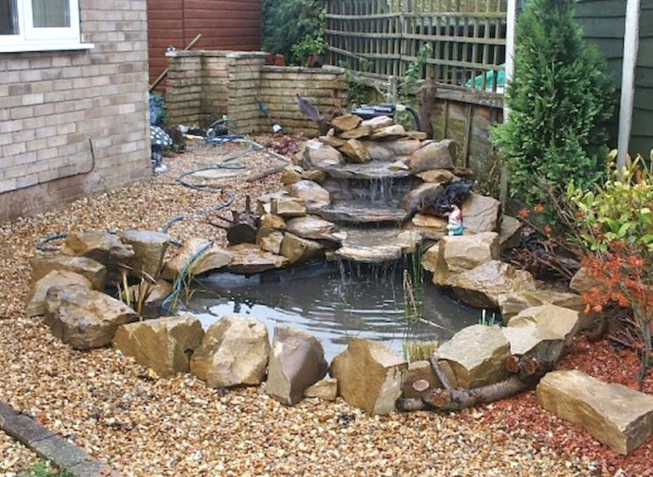 Pin Natalie Allen On Garden Ponds Ponds Backyard Pond Pond With Regard To 10 Small Garden Waterfall Ideas In 2020 Waterfalls Backyard Ponds Backyard Pond Landscaping,Diy Painted Flower Pots Designs For Painting Drawing