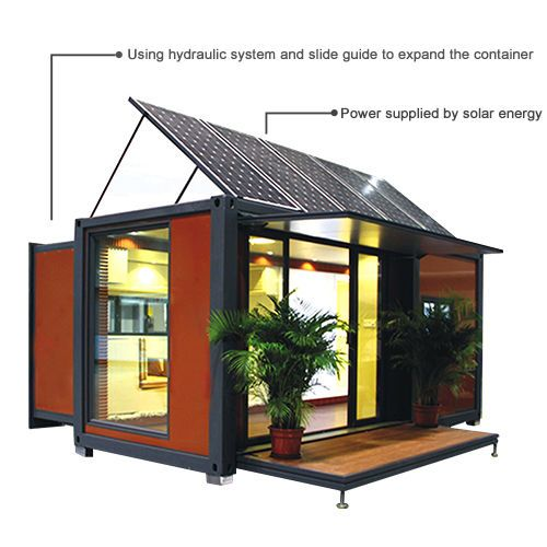 20FT/40FT Expandable Flat Pack Prefab Module Container